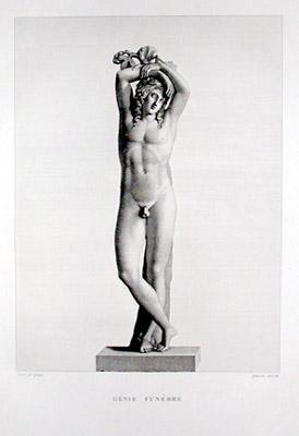 Génie Funébre [Mourning Figure]