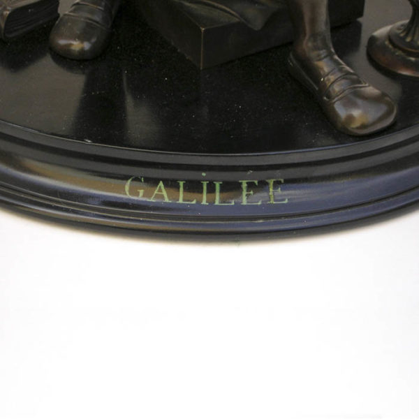 Statue of Galileo Galilei, detail