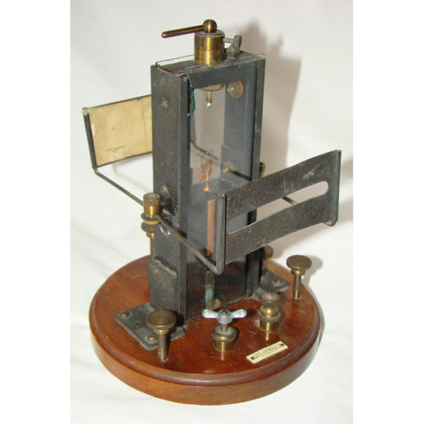 L.E. Knott Apparatus Co. Reflecting Galvanometer with Moving Coil (D'Arsonval)