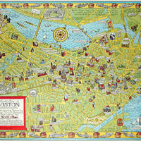 A Scott-Map of Boston Massachusetts