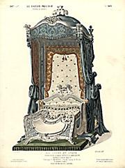 Lit Louis XV, Drapé [Louis XV Bed, Draped]
