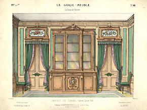 Fond de Cabinet de Travail Henri II [Back of Henry II Study]