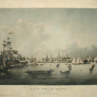Louis Garneray, View of the Port of Boston