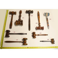 Gavels, Selection of Fine Premium Gavels