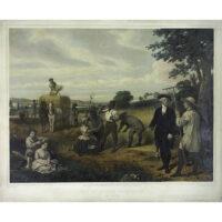 George Washington as a Farmer at Mount Vernon