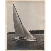 Yacht, Glen Cove, New York, 1947