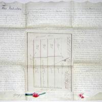 Manuscript Map, New York City Lots