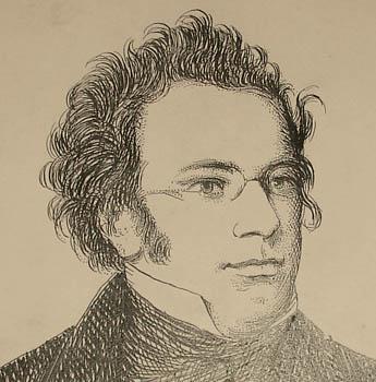 Schubert, detail