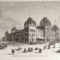 Grand Central Depot, New York - 1872