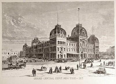 Grand Central Depot, New York - 1872