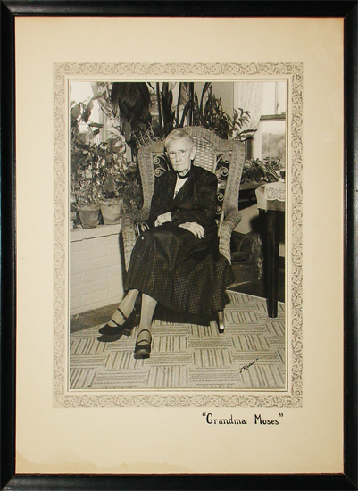 Portrait of Grandma Moses