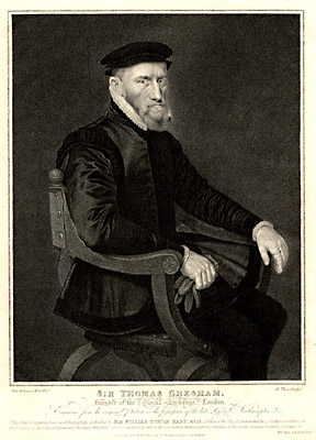 Portrait of Sir Thomas Gresham