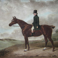 Daniel Haigh on Horseback