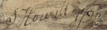 View Halloo, Howitt signature