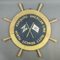 Relief Plaque, Hamburg American Line — North German Lloyd
