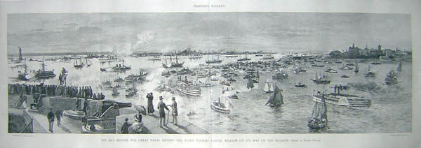 View, Great Naval Review of 1893