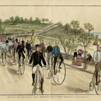 League of American Wheelmen, Parade on Riverside Drive