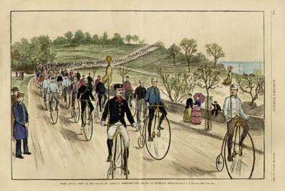 League of American Wheelmen, Parade on Riverside Drive