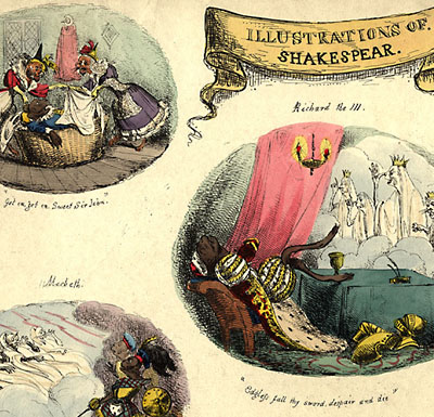 Illustrations of Shakespear [sic]