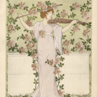 Art Nouveau Decorative Floral Designs
