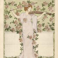 Art Nouveau Decorative Floral Designs