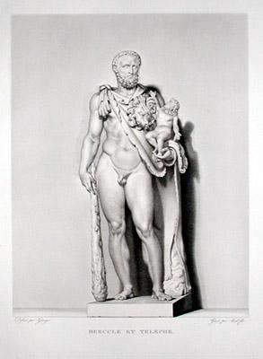 Hercule et Telephe [Heracles (or Hercules) and His Son Telephus]