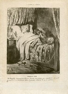 Daumier Satirical Lithograph