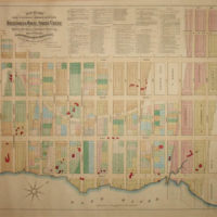 Map of Beekman Hill, Large