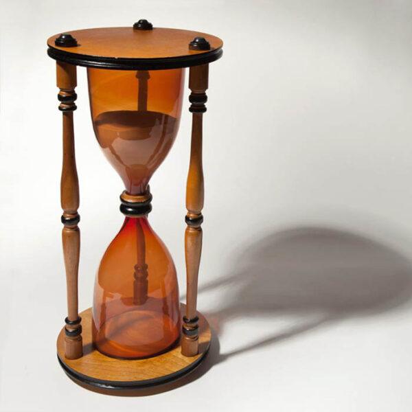 Hourglass (Sandglass), Biedermeier Taste