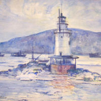 Light House, Tarrytown, Hudson River