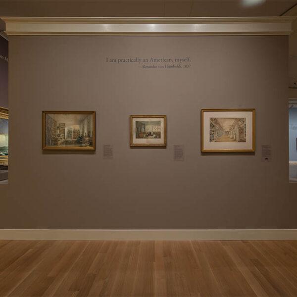 """""""Alexander von Humboldt in His Study"""" at Smithsonian exhibition 2020-21"""