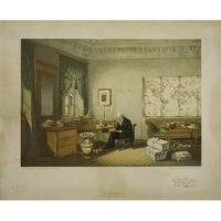 Alexander von Humboldt in His Study