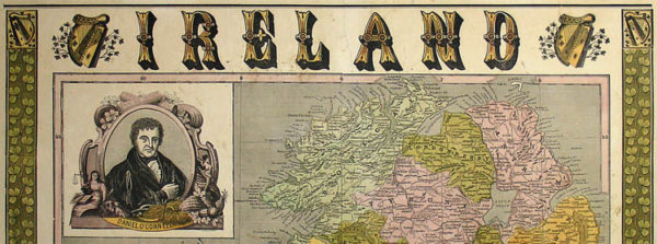 Map, Ireland, Illustrated