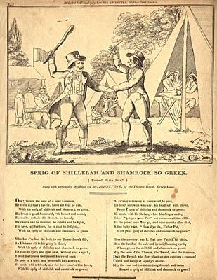 Irish Song Sheet