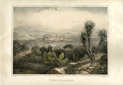 View of Jalapa, Mexico