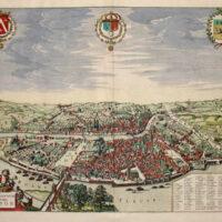 Map, Jansson Theatrum...Galliae et Helvetiae