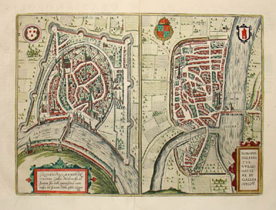 Maps of Grenoble and Romans-sur-Isere