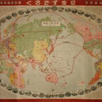 World Flight Route Map