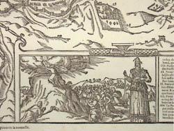 Bird's-Eye View, Jerusalem, 1575