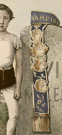 """Portrait of Johnny Day, """"The Pedestrian Wonder"""""""