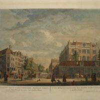 Vue de la Synagogue, des Juifs Portugais, à Amsterdam