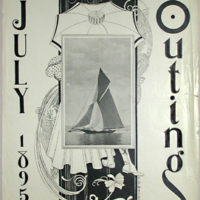 Outing Magazine Cover, July 1895