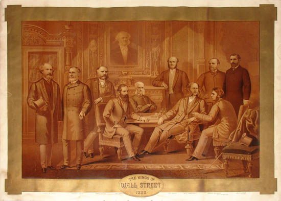 The Kings of Wall Street 1882