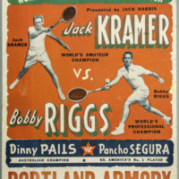 World Championship Tennis Posters: 1940s