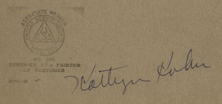 Kathryn Kuhn signature
