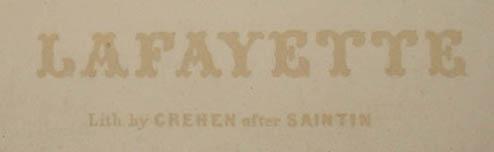 Lafayette portrait detail