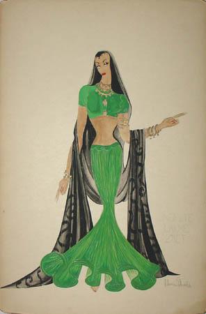 Costume Design, Lakmé