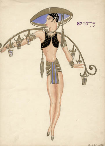 Costume Design, Dance, Art Deco