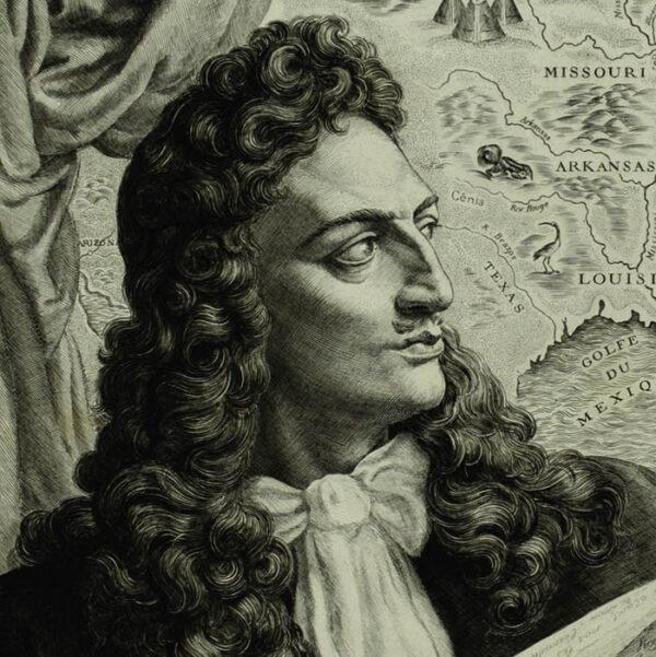 René-Robert Cavelier, Sieur de La Salle, detail