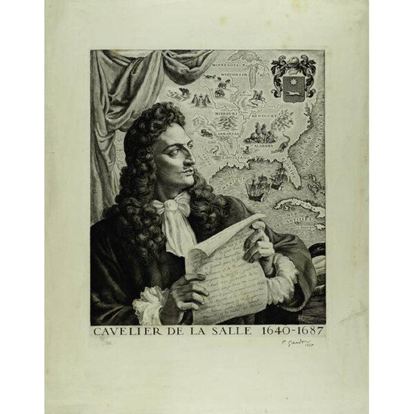 René-Robert Cavelier, Sieur de La Salle, full sheet